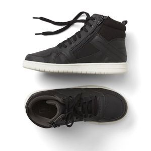 Gap Boys Herringbone Hi-top Sneakers